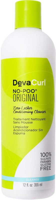 No-Poo Original Zero Lather Conditioning Cleanser - 12.0oz