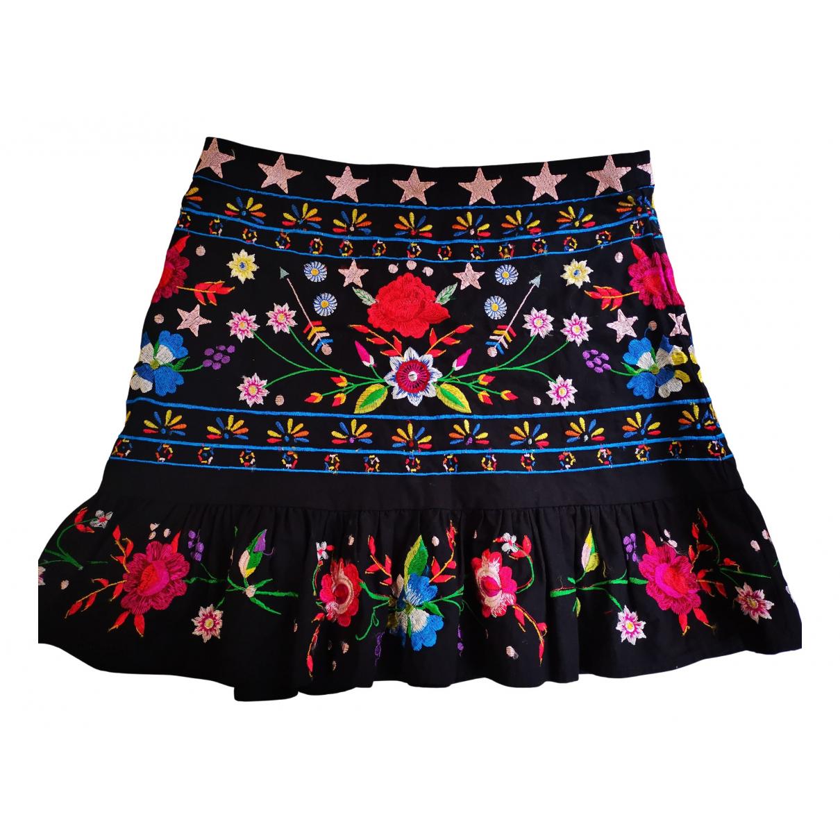 Asos - Jupe   pour femme en coton - multicolore