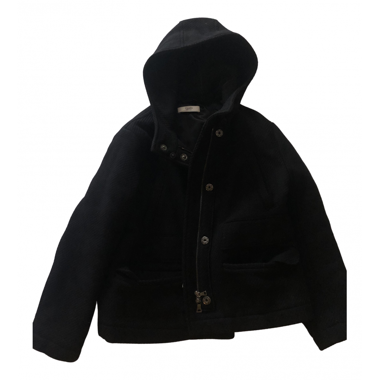 Prada \N Black Wool jacket for Women 38 IT