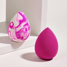 2pcs Pear Shaped Makeup Sponge