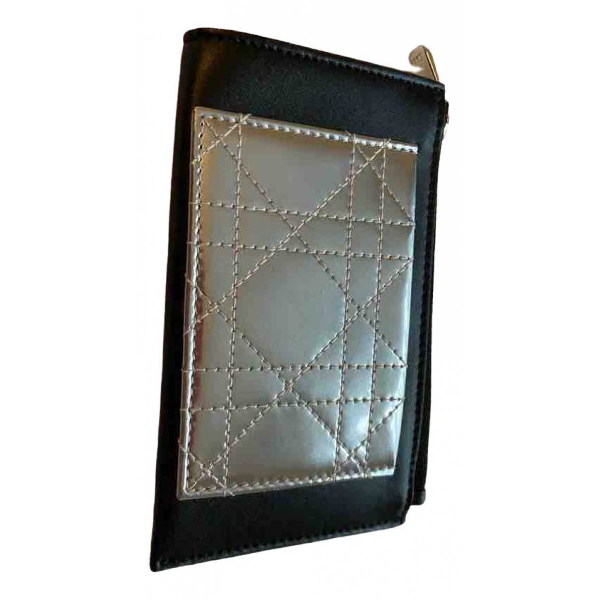 Dior \N Black Leather Purses, wallet & cases for Women \N