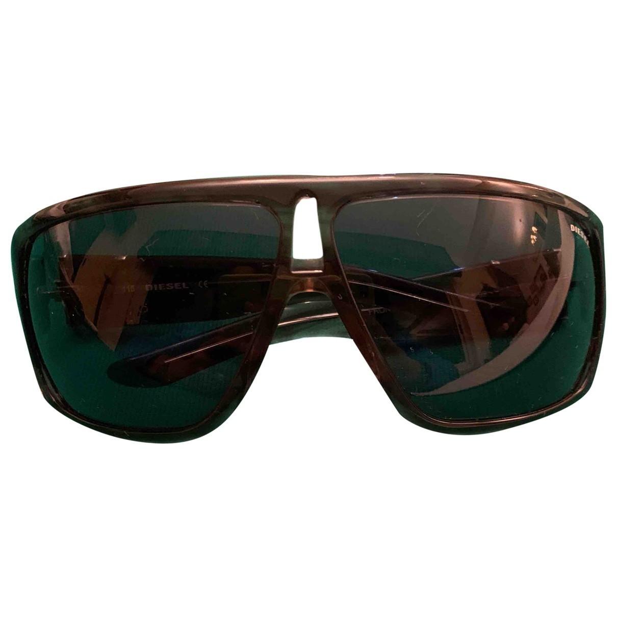 Diesel \N Brown Sunglasses for Men \N