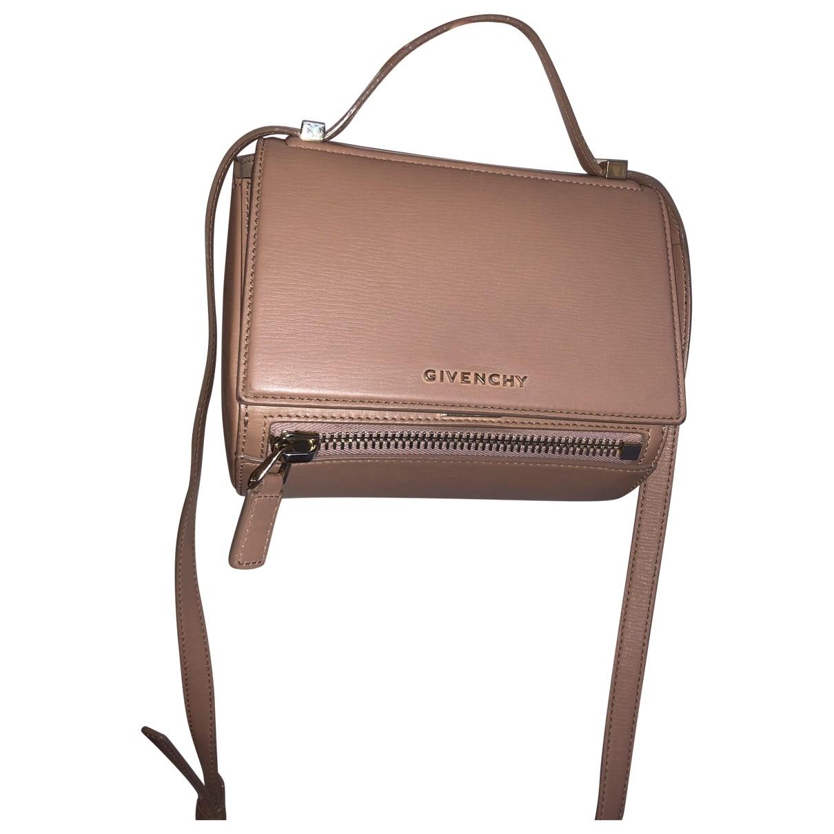 Givenchy Pandora Box Handtasche in  Beige Leder
