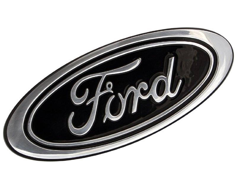 Defenderworx 901461 Billet Grille & Tailgate Emblem 9.5-Inch Black Oval Ford F-150 2015