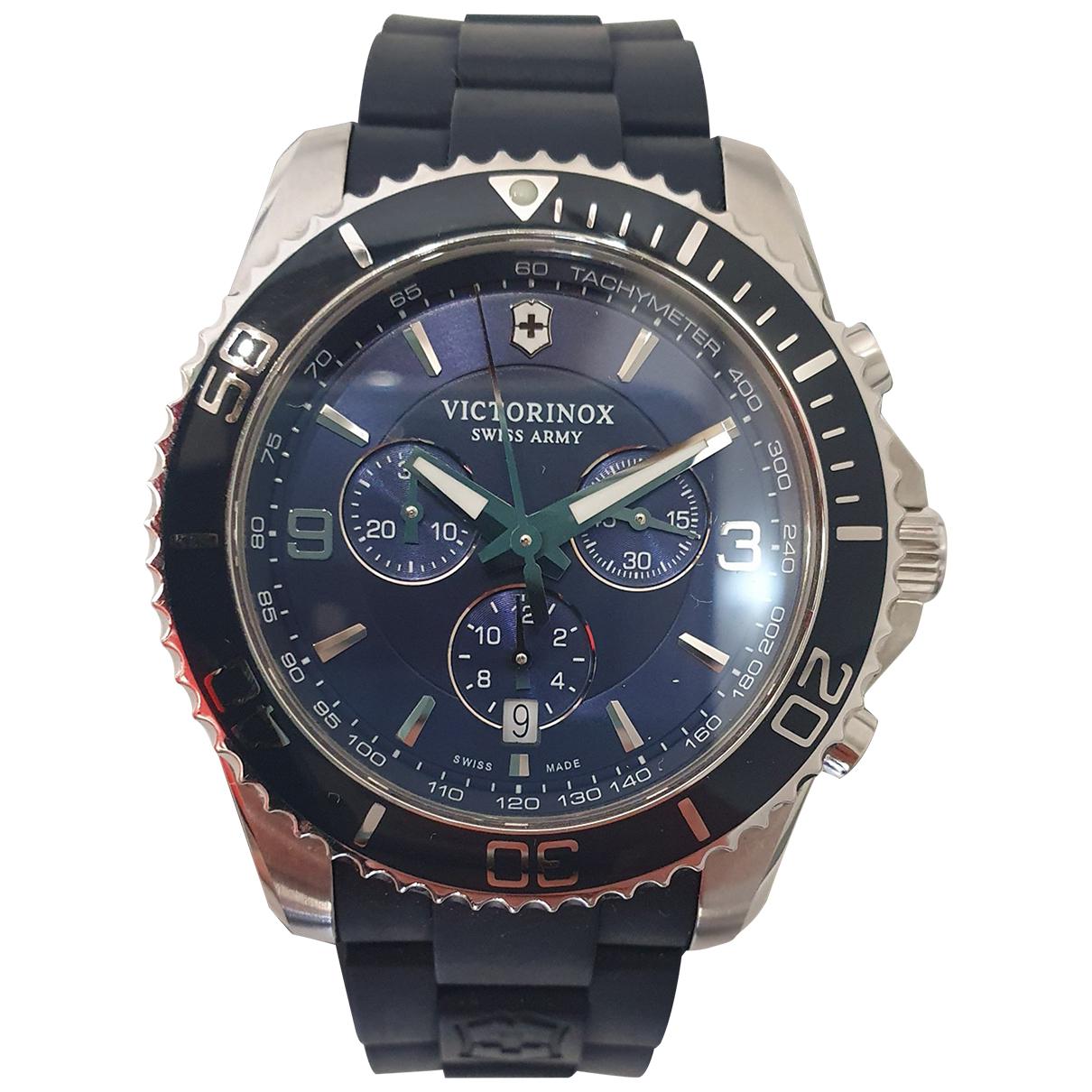 Victorinox N Blue Steel watch for Men N