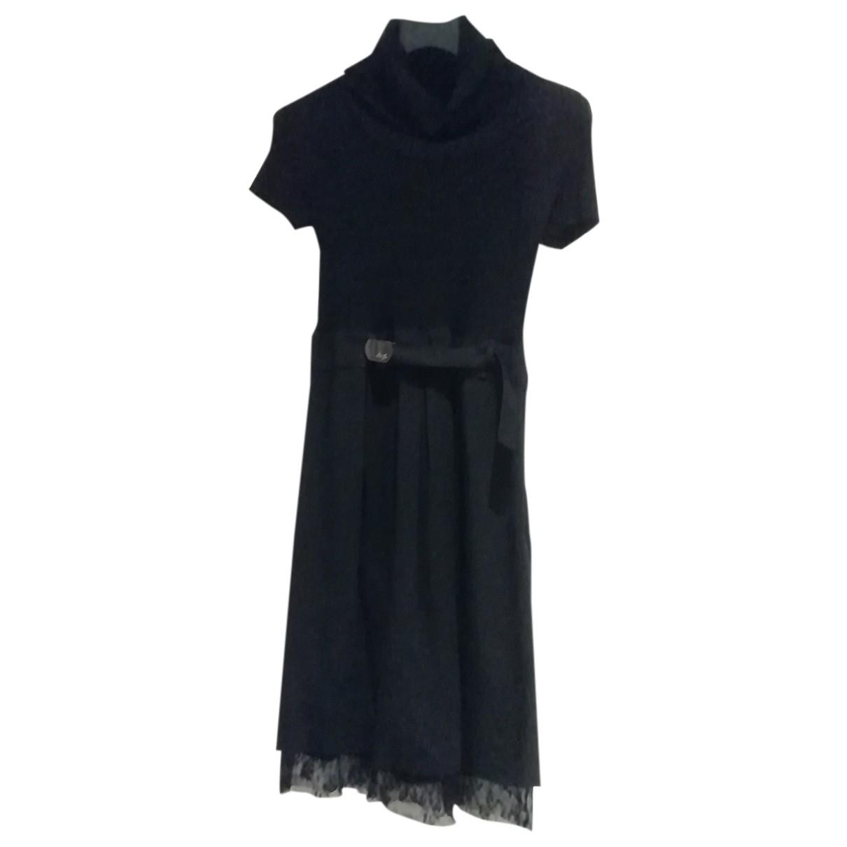 Liu.jo N Black Wool dress for Women S International