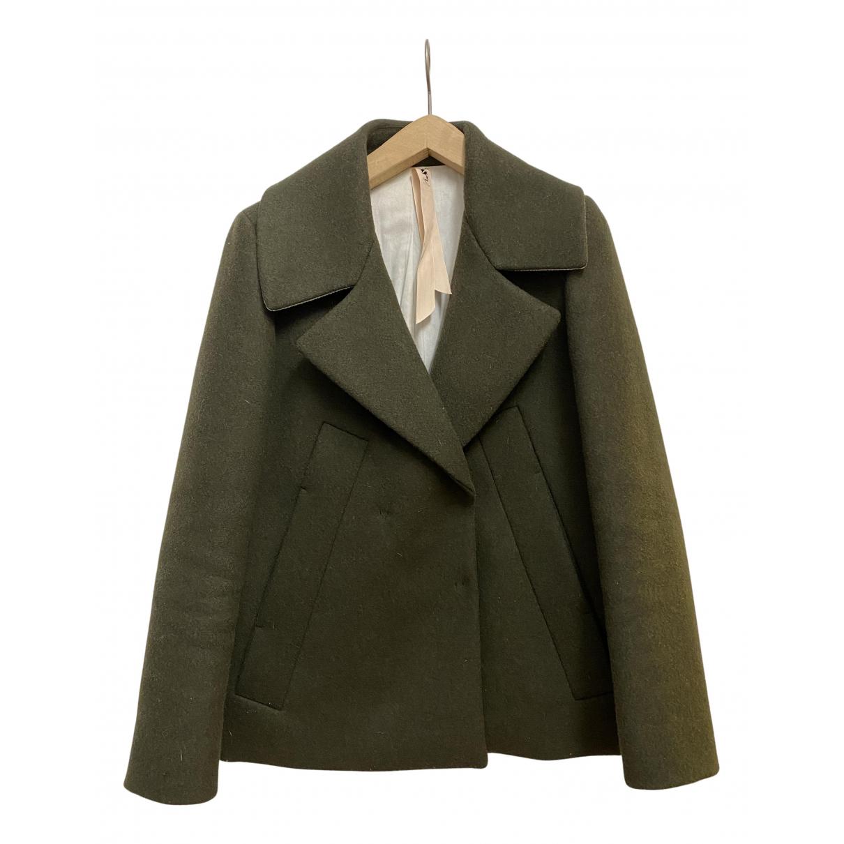 N°21 - Veste   pour femme en laine - vert