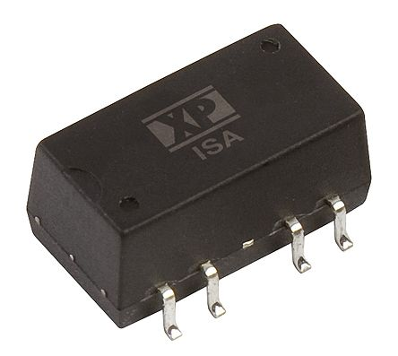 XP Power ISA 1W Isolated DC-DC Converter Surface Mount, Voltage in 10.8 → 13.2 V dc, Voltage out ±15V dc