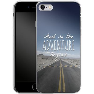 Apple iPhone 6 Silikon Handyhuelle - And so the Adventure Begins von Joel Perroden