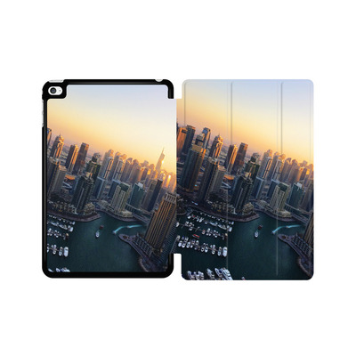 Apple iPad mini 4 Tablet Smart Case - Dubai Skyline von Omid Scheybani