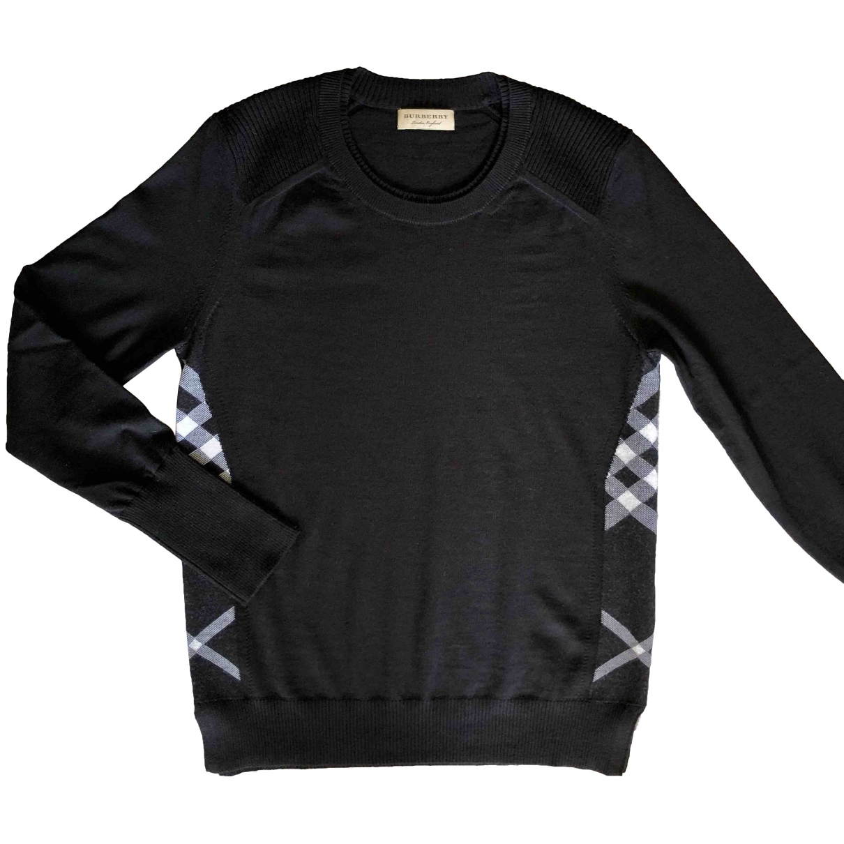 Burberry \N Pullover in  Schwarz Wolle
