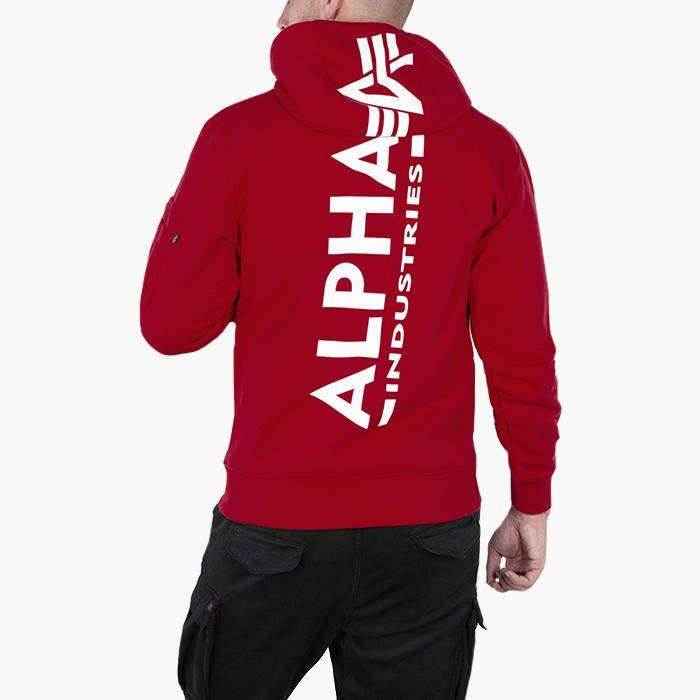 Alpha Industries Back Print Hoody 178318 328