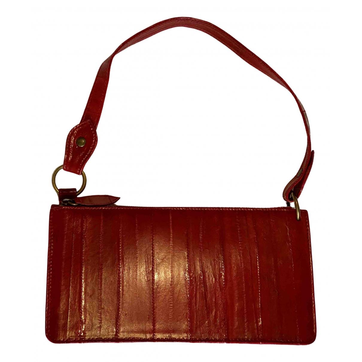 Charles Jourdan N Red Leather Clutch bag for Women N