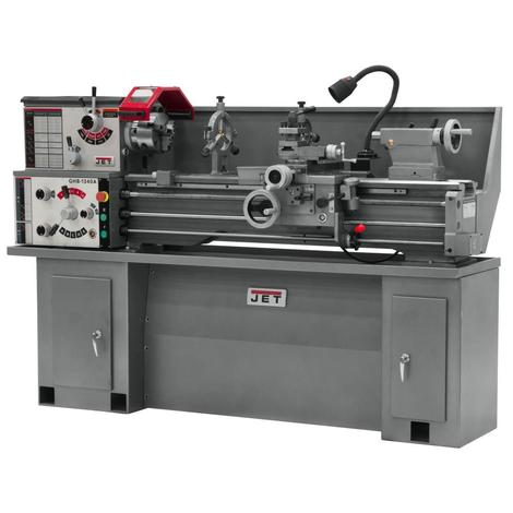 Jet Ghb-1340A Lathe with Collet Closer & Taper Attachment