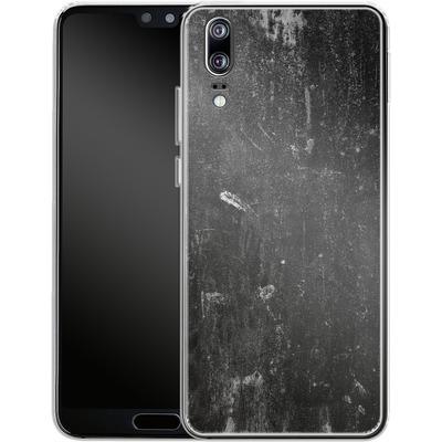 Huawei P20 Silikon Handyhuelle - Grundge von caseable Designs