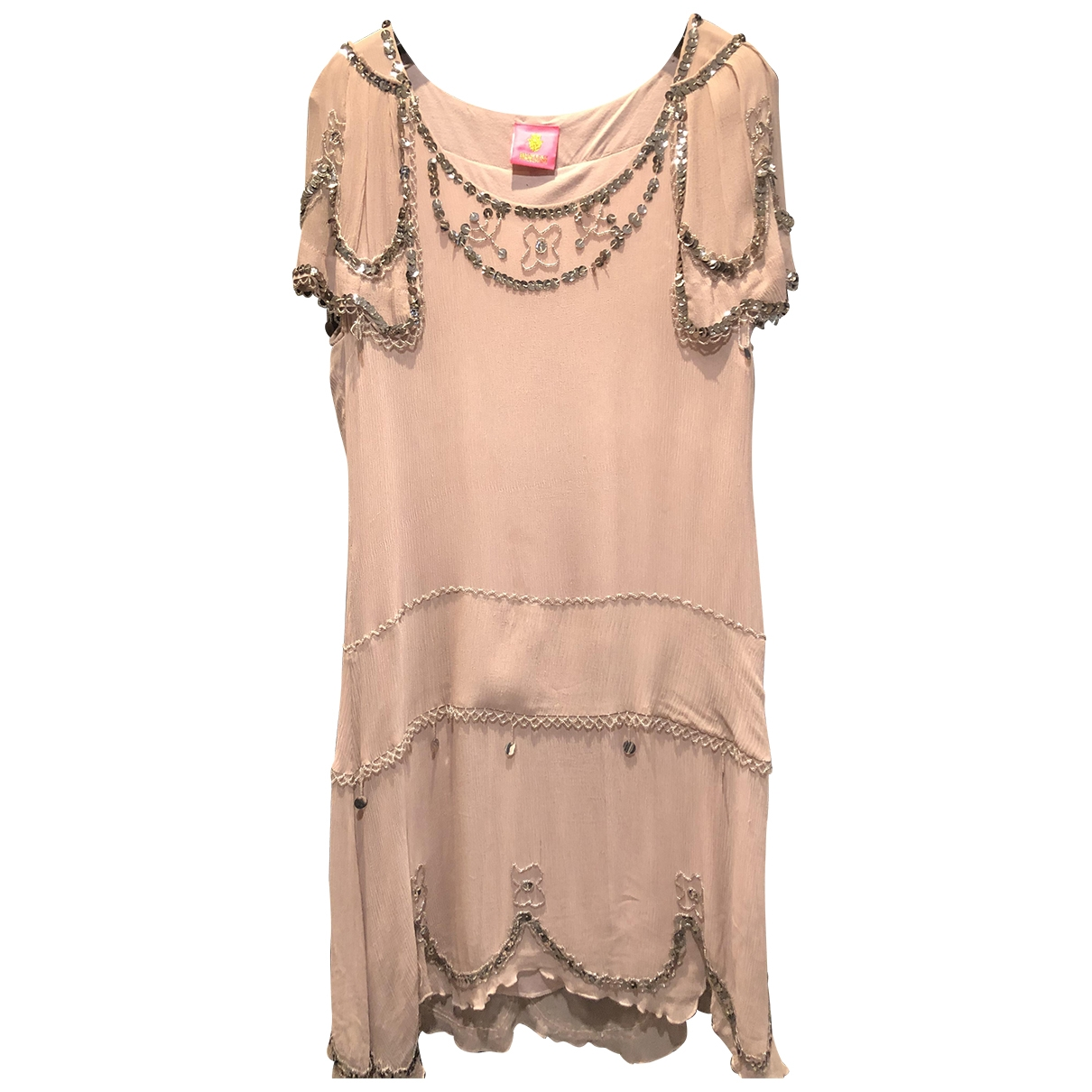 Manoush \N Pink Silk dress for Women 42 FR