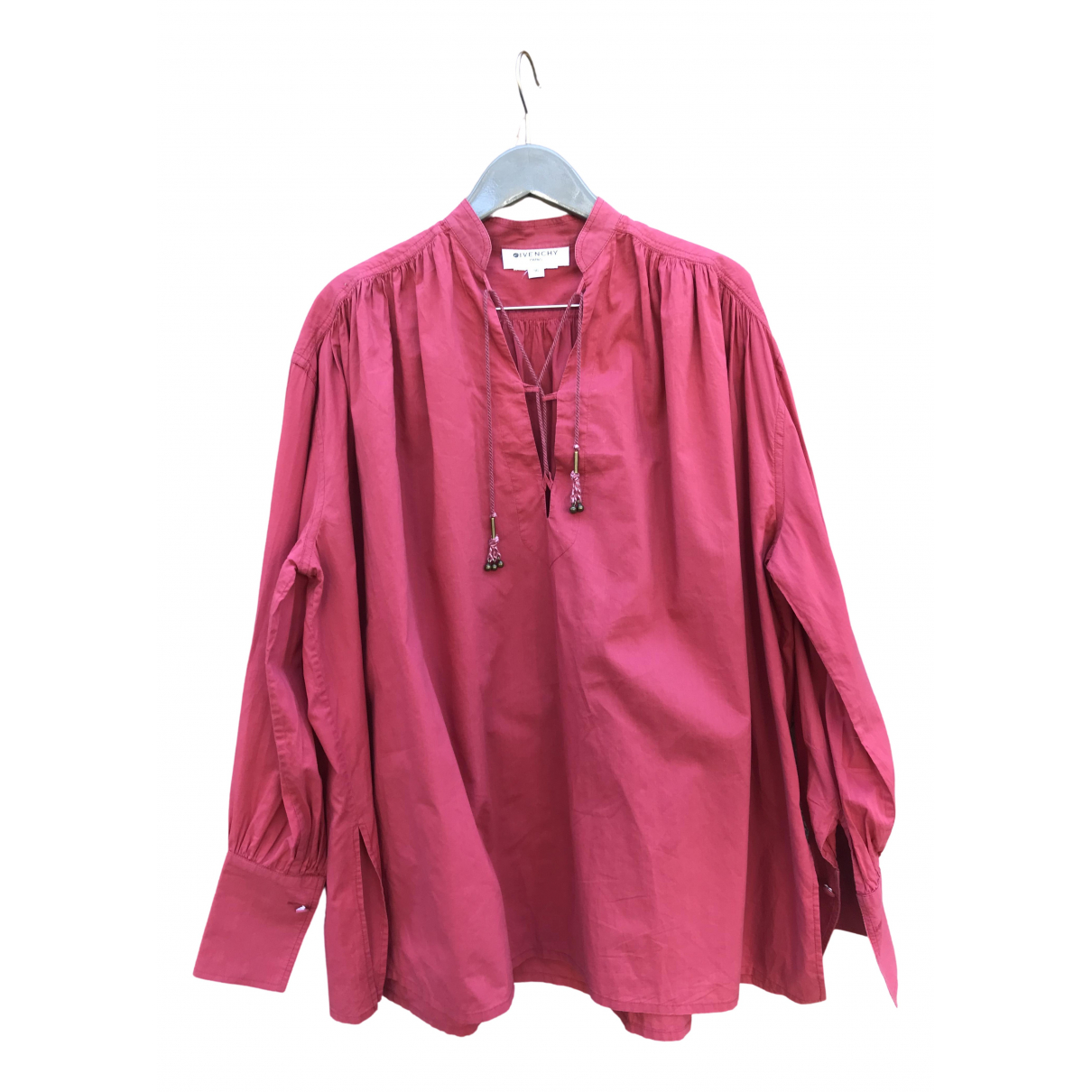 Givenchy \N Red Cotton  top for Women 36 FR