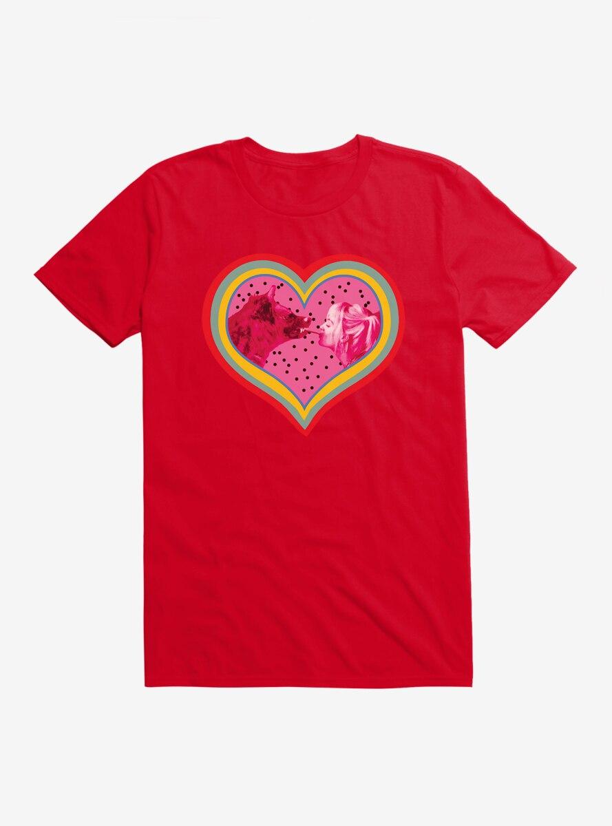 DC Comics Birds Of Prey Harley Quinn Hyena Love T-Shirt