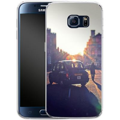 Samsung Galaxy S6 Silikon Handyhuelle - Those Simple Days von Ronya Galka