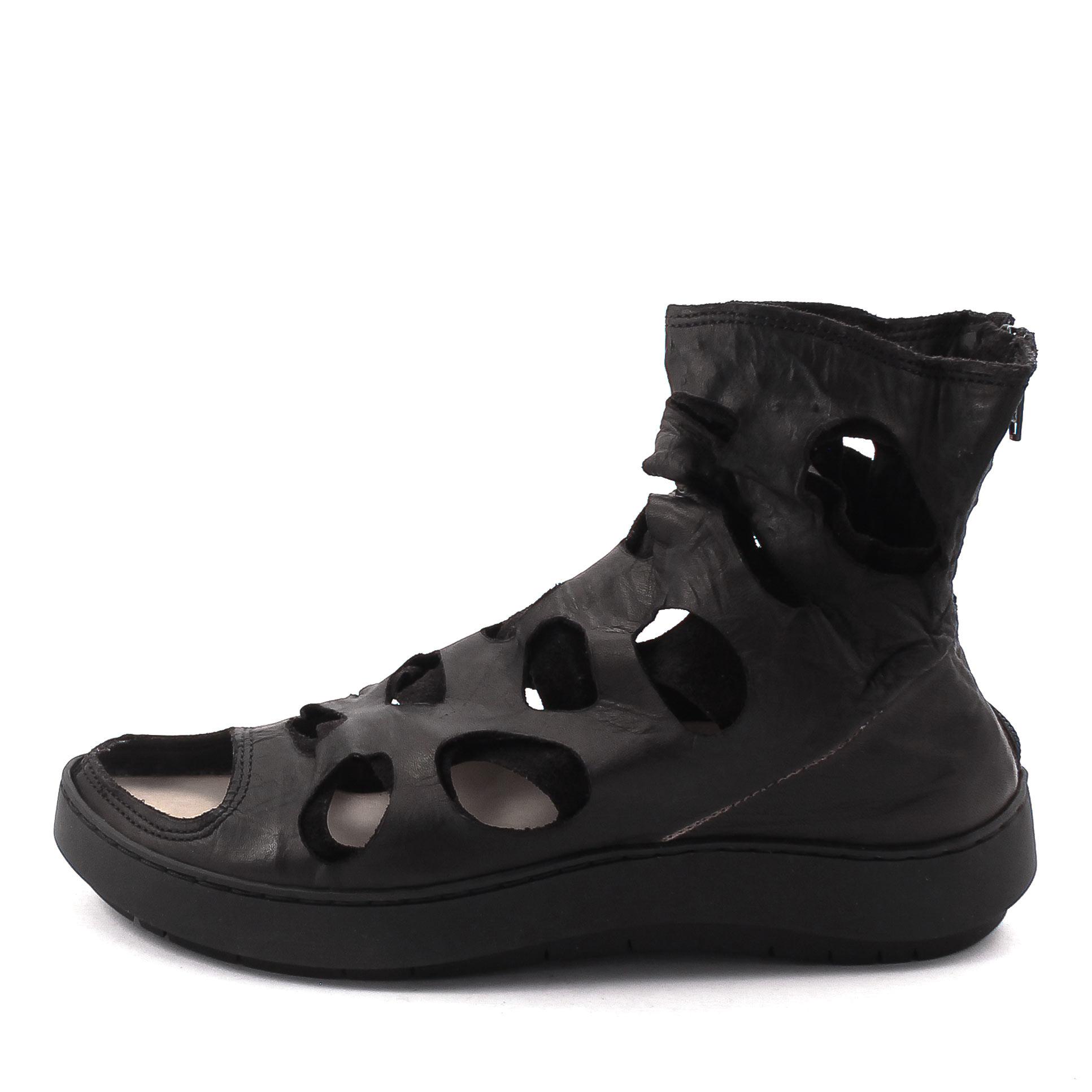 Trippen, Task f Swan Women's Summer Bootees, black Größe 37