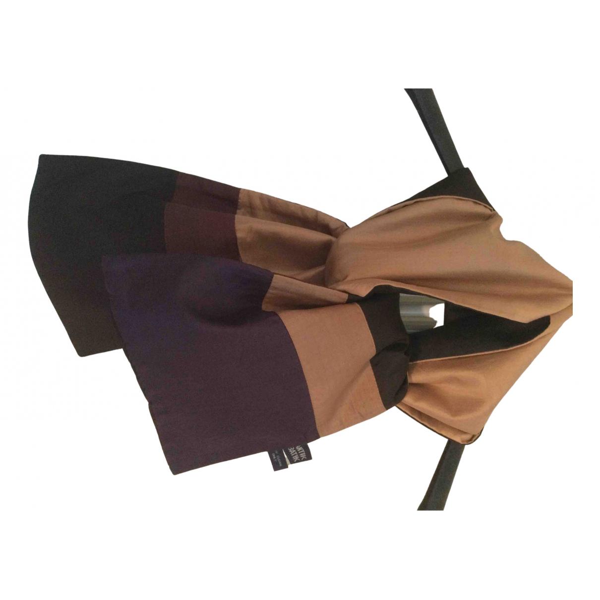 Antik Batik \N Schal in  Beige Seide