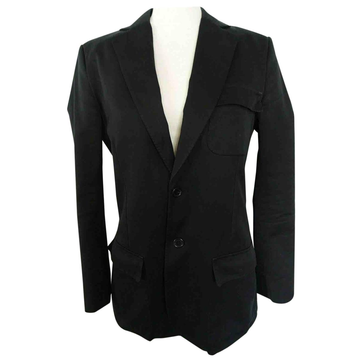 Sonia Rykiel \N Black Cotton jacket  for Men 46 FR