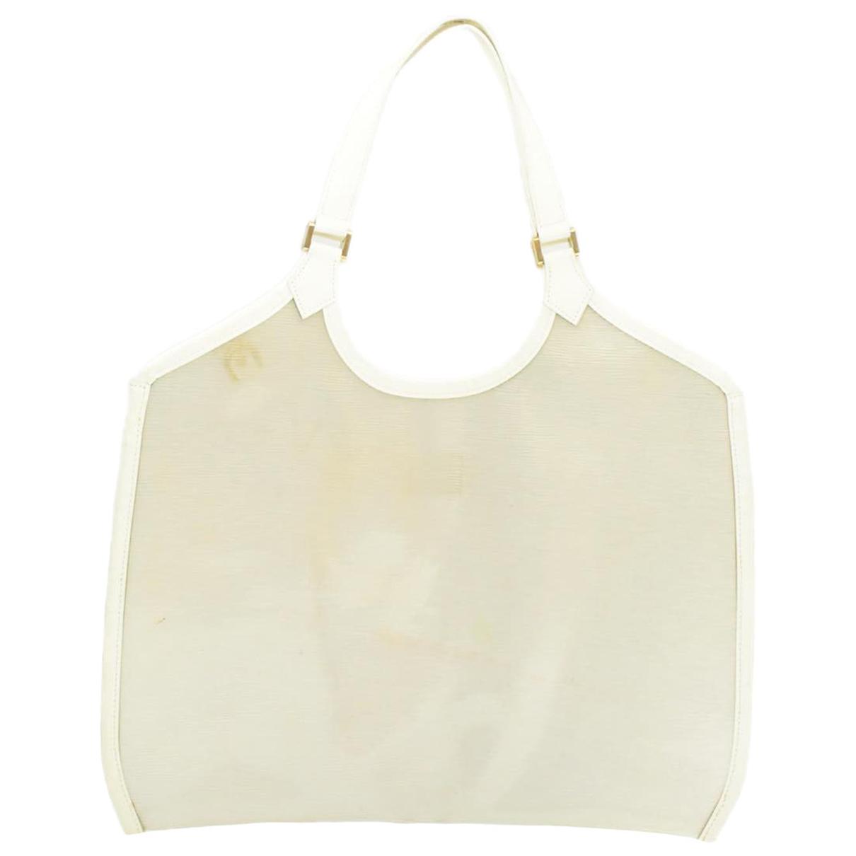 Louis Vuitton \N Handtasche in  Weiss Kunststoff