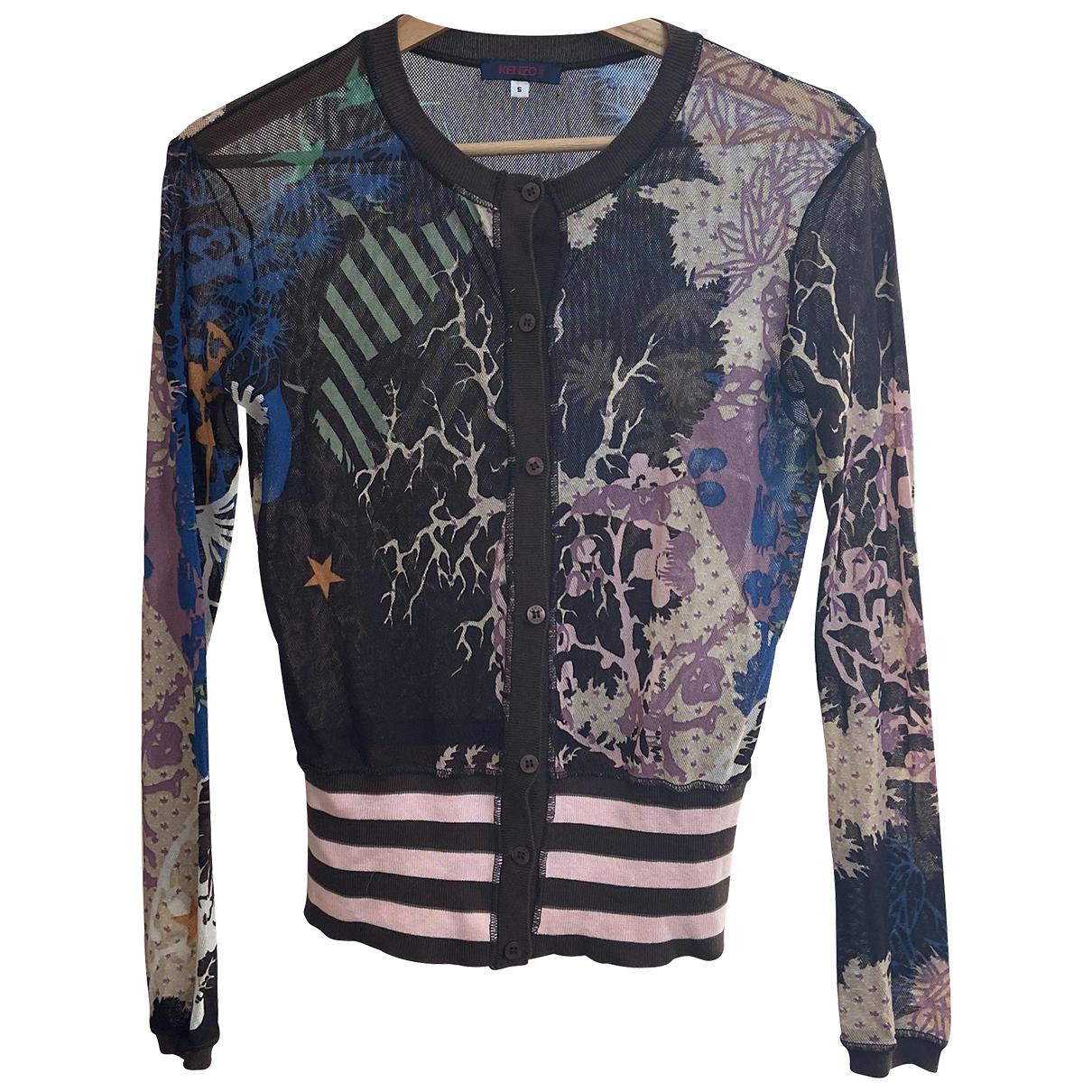 Kenzo N Multicolour Cotton Knitwear for Women 36 FR