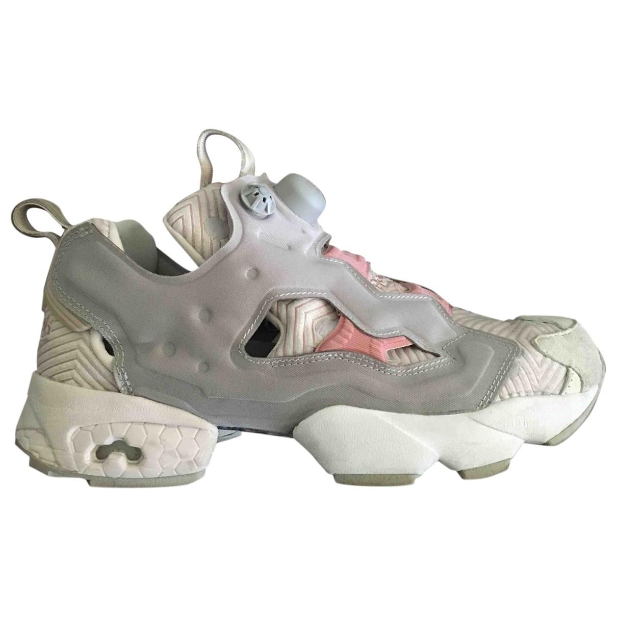 Reebok - Baskets   pour femme - gris