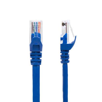 0.5pi câble réseau Ethernet Cat6 550MHz UTP 24AWG RJ45 - bleu - PrimeCables® - 1/paquet