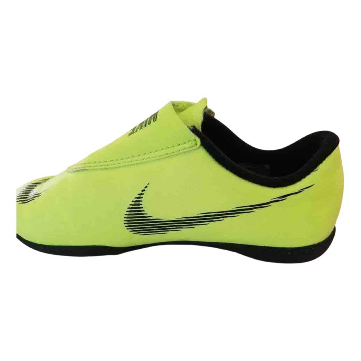Nike - Baskets   pour enfant - jaune