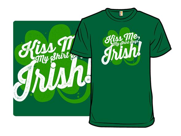 Faux Irish T Shirt