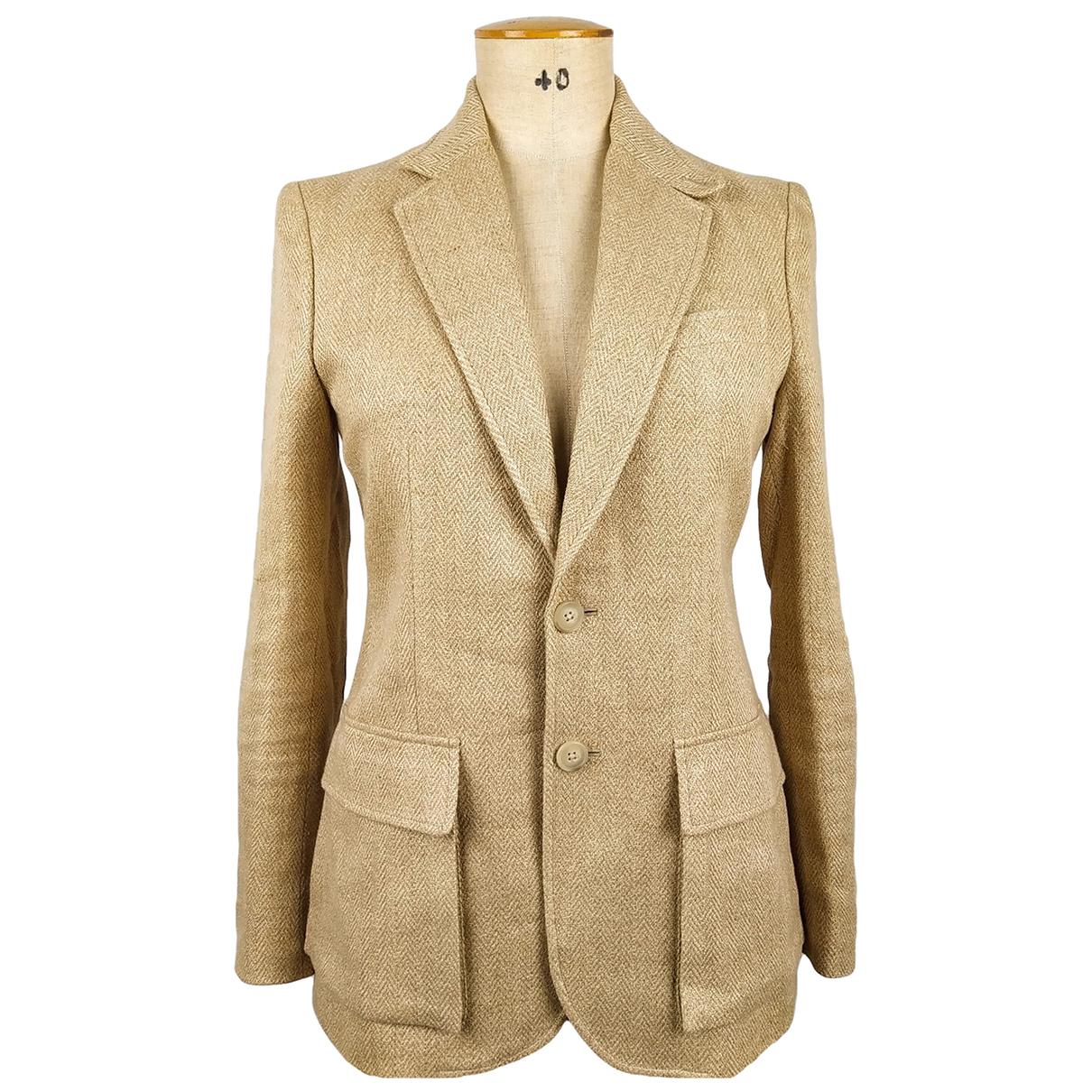 Ralph Lauren - Veste   pour femme en lin - beige