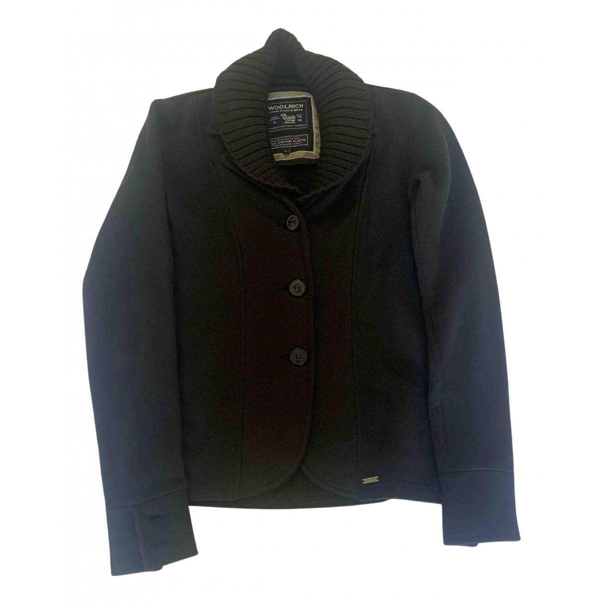 Woolrich - Veste   pour femme en coton - bleu