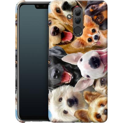 Huawei Mate 20 Lite Smartphone Huelle - Dogs Selfie von Howard Robinson