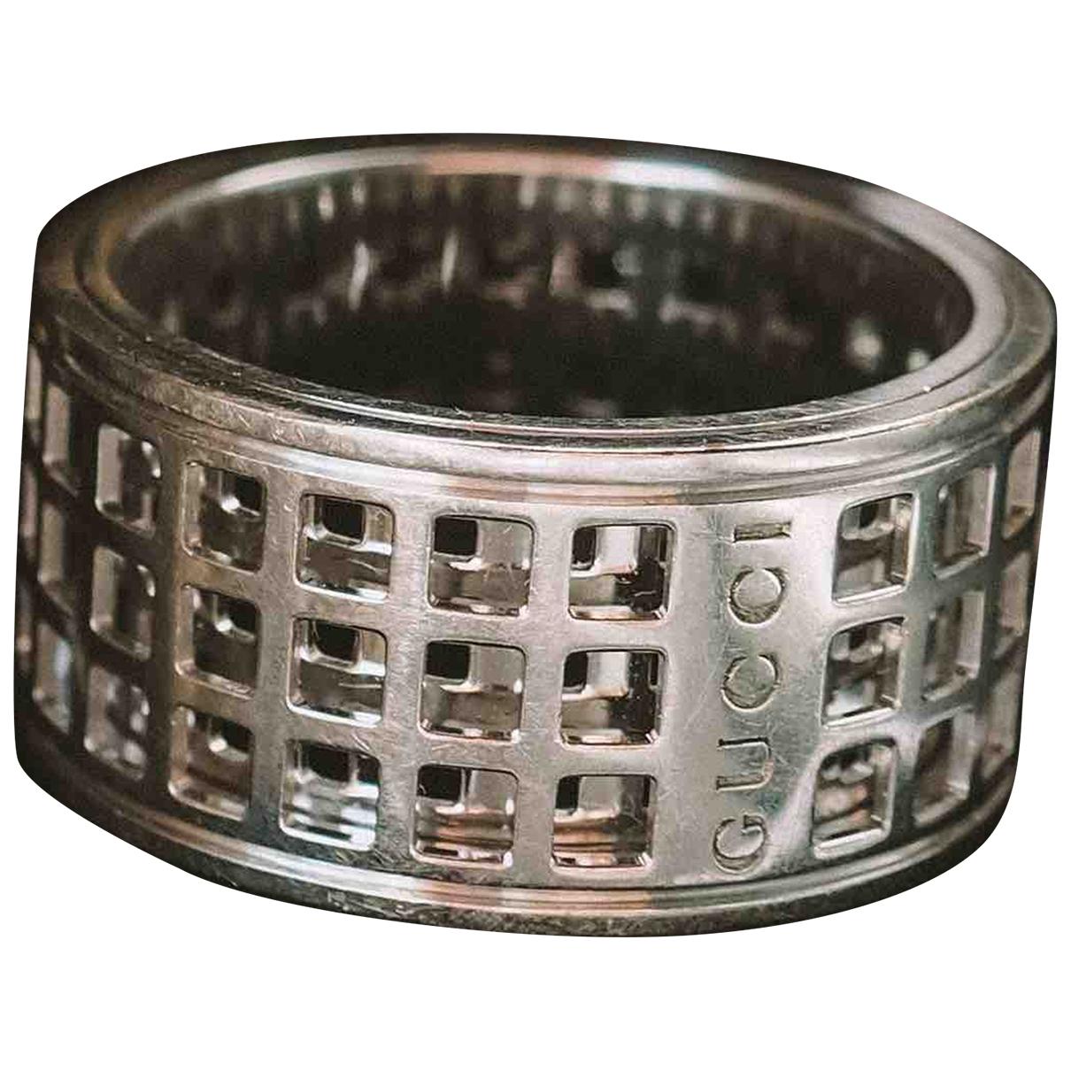 Gucci \N White White gold ring for Women 53 EU