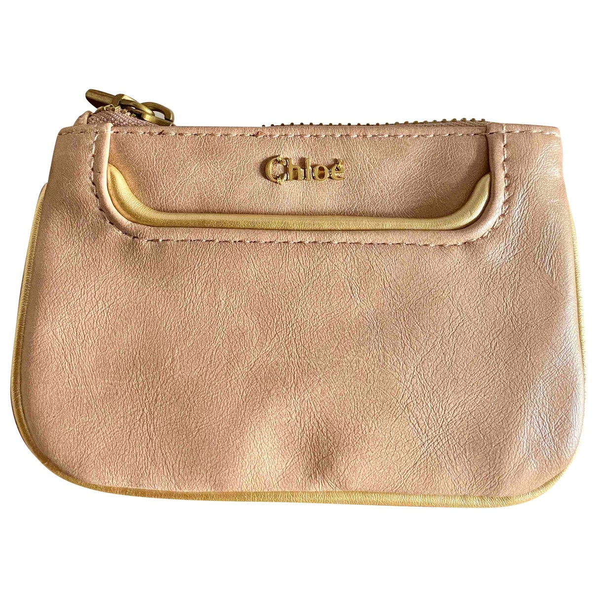 Chloé \N Pink Leather Purses, wallet & cases for Women \N