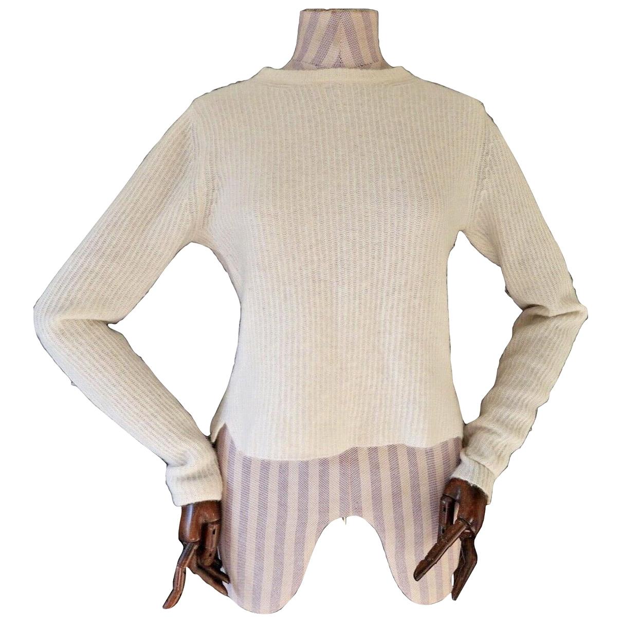 Rag & Bone \N Pullover in  Weiss Wolle