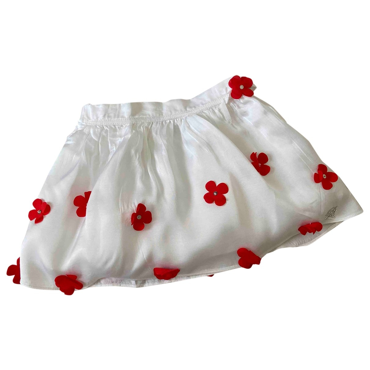 Blumarine - Jupe   pour enfant en coton - blanc