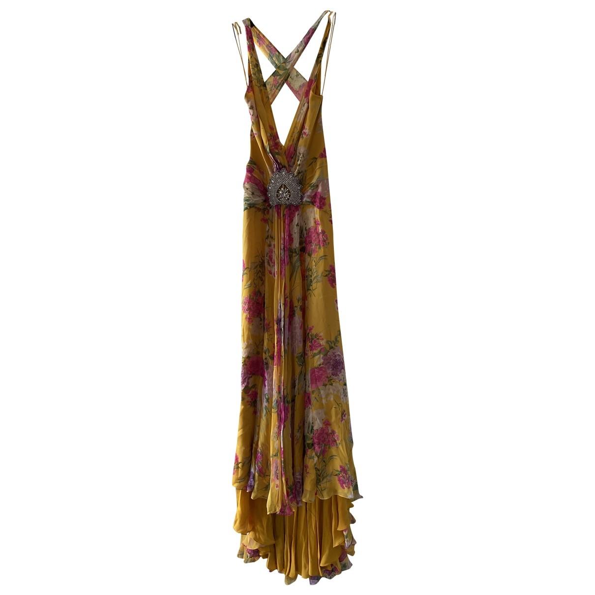 Jenny Packham \N Multicolour Silk dress for Women 10 UK