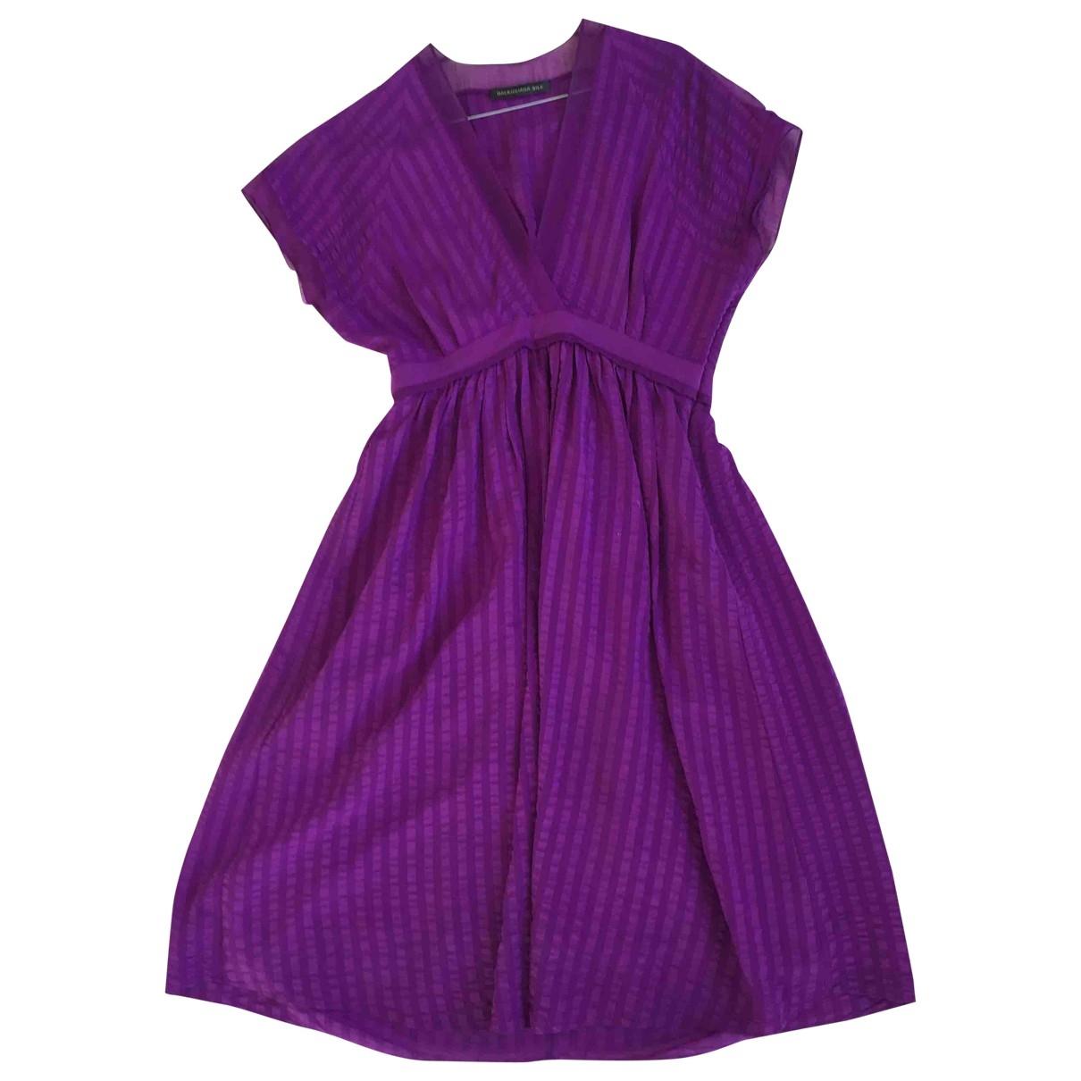 Givenchy \N Kleid in  Lila Seide