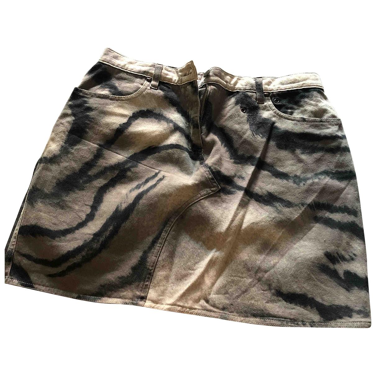 Krizia \N Grey Denim - Jeans skirt for Women 44 IT