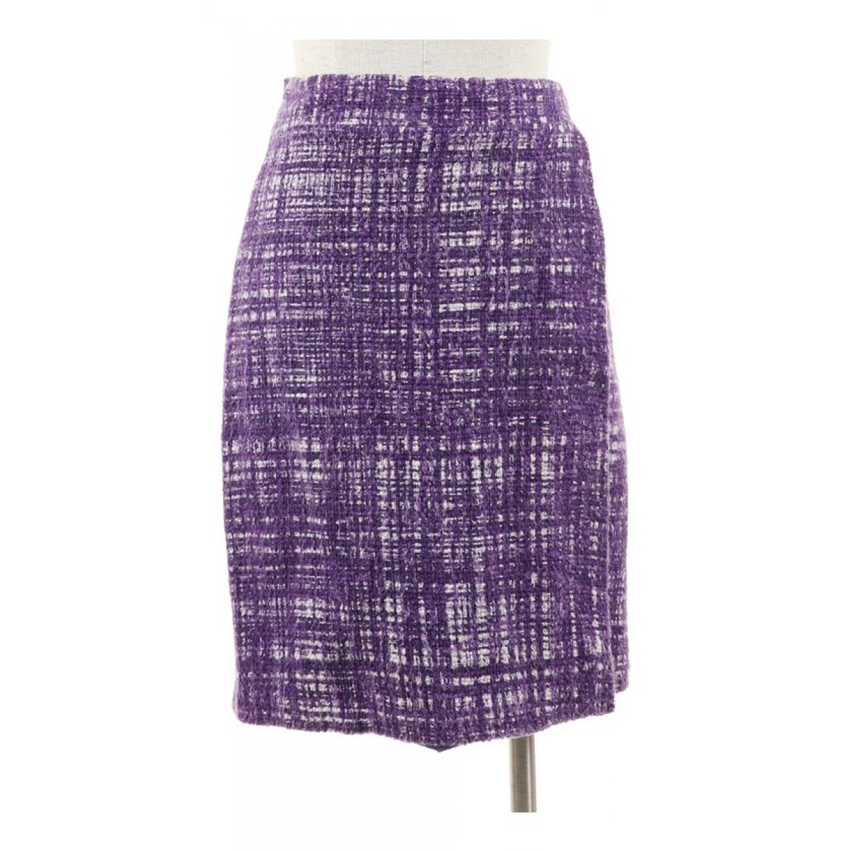 Prada - Jupe   pour femme en coton - violet