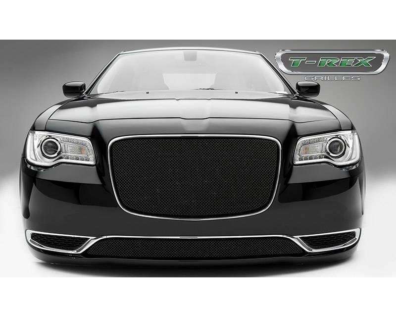 2015-2018 Chrysler 300 Sport Grille, Black, 1 Pc, Overlay - PN #46436