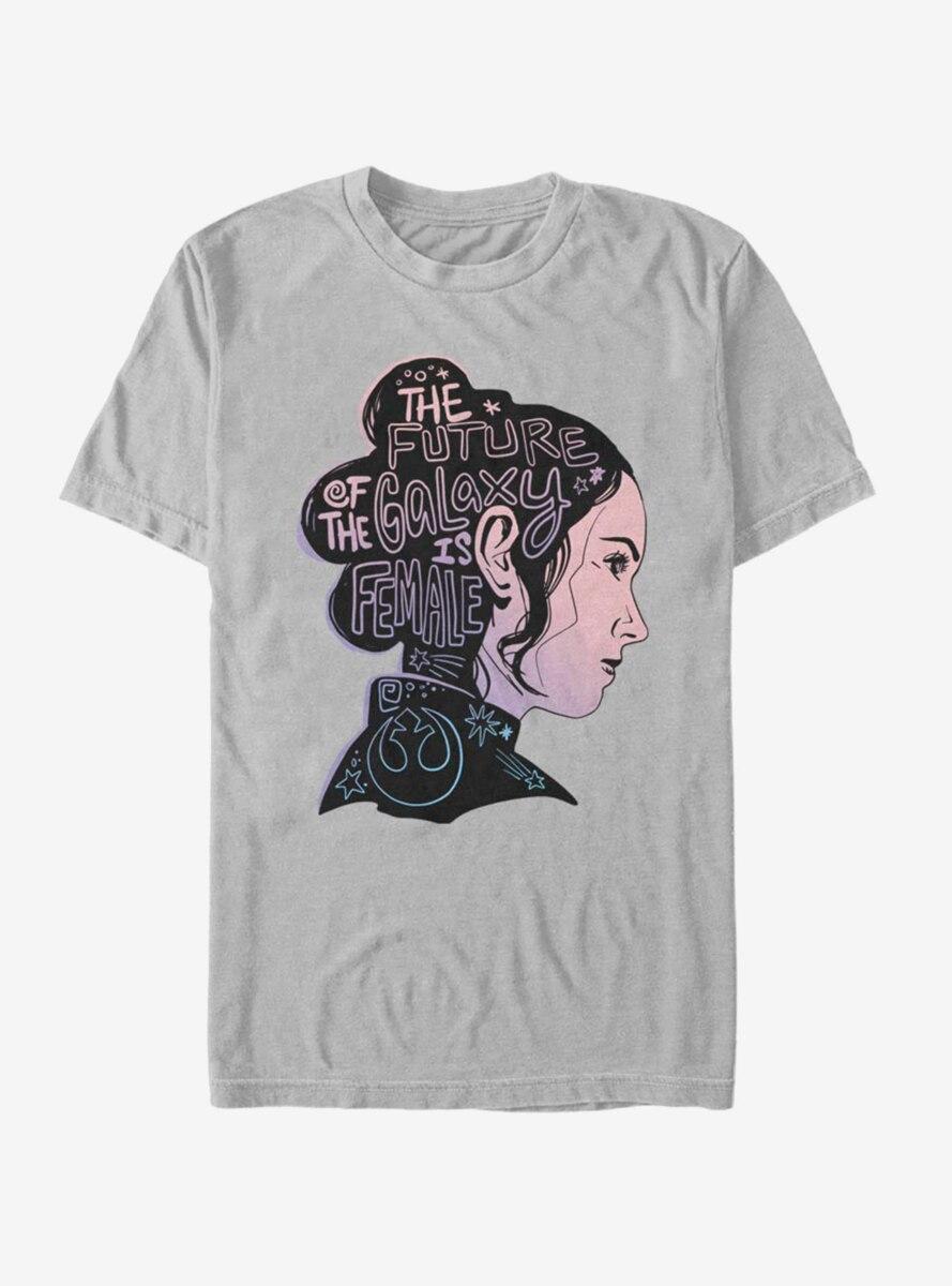 Star Wars Episode IX The Rise Of Skywalker Female Future Silhouette T-Shirt