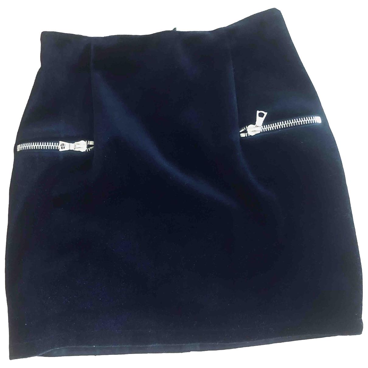 Mini falda de Terciopelo Sandro