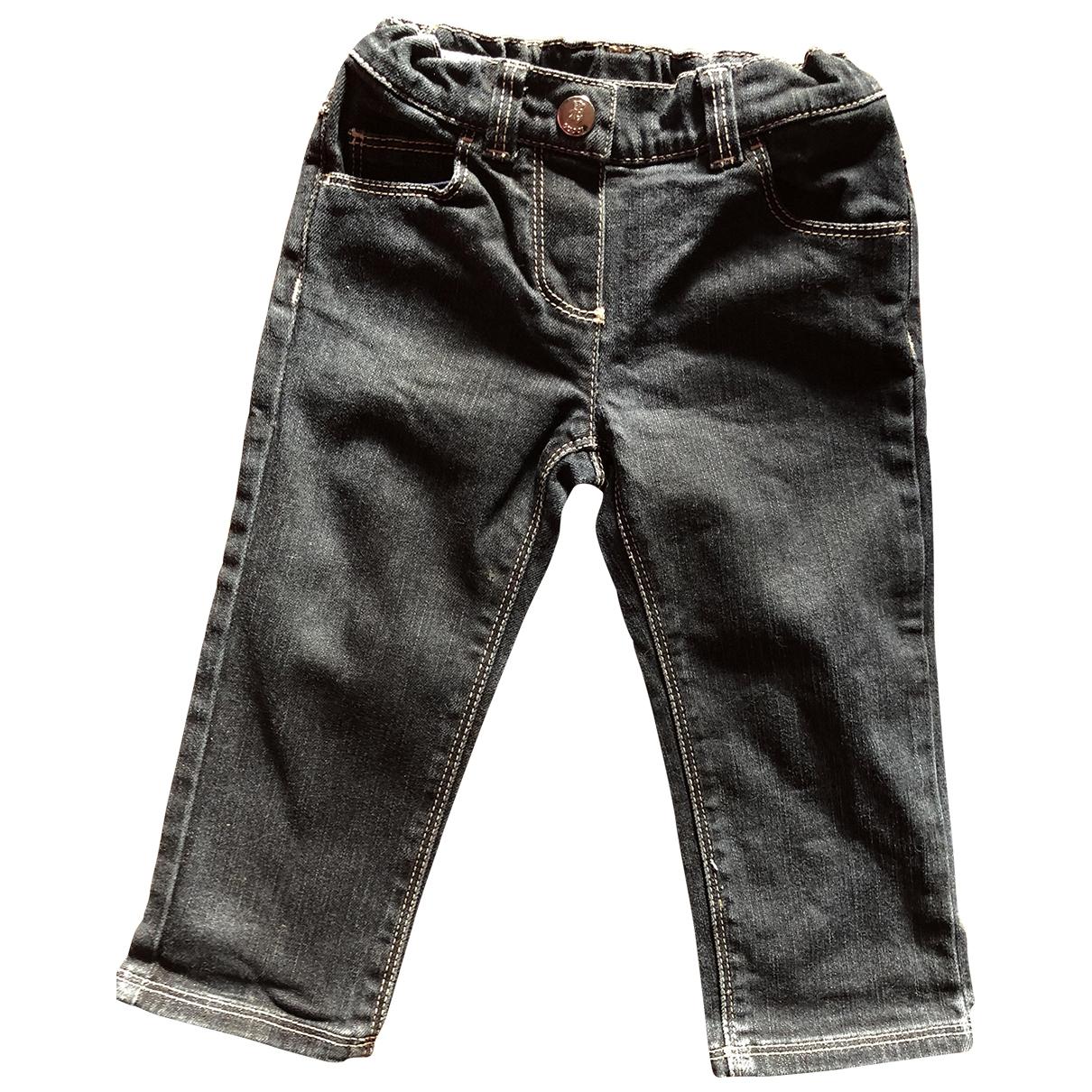 Gucci - Pantalon   pour enfant en denim - noir