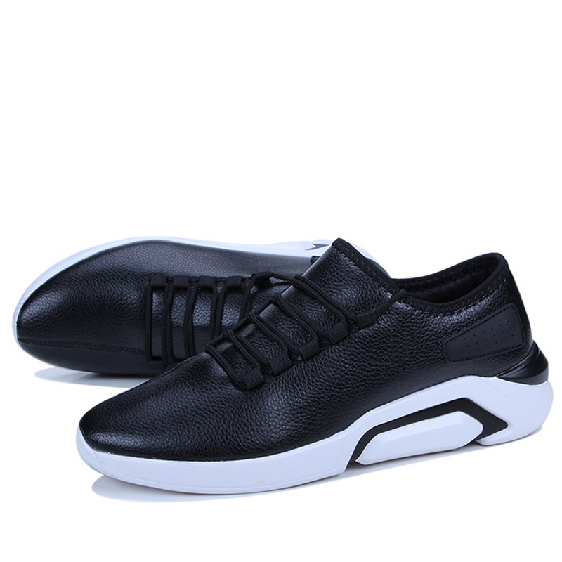 Ericdress PU Breathable	Lace-Up Men's Trainers