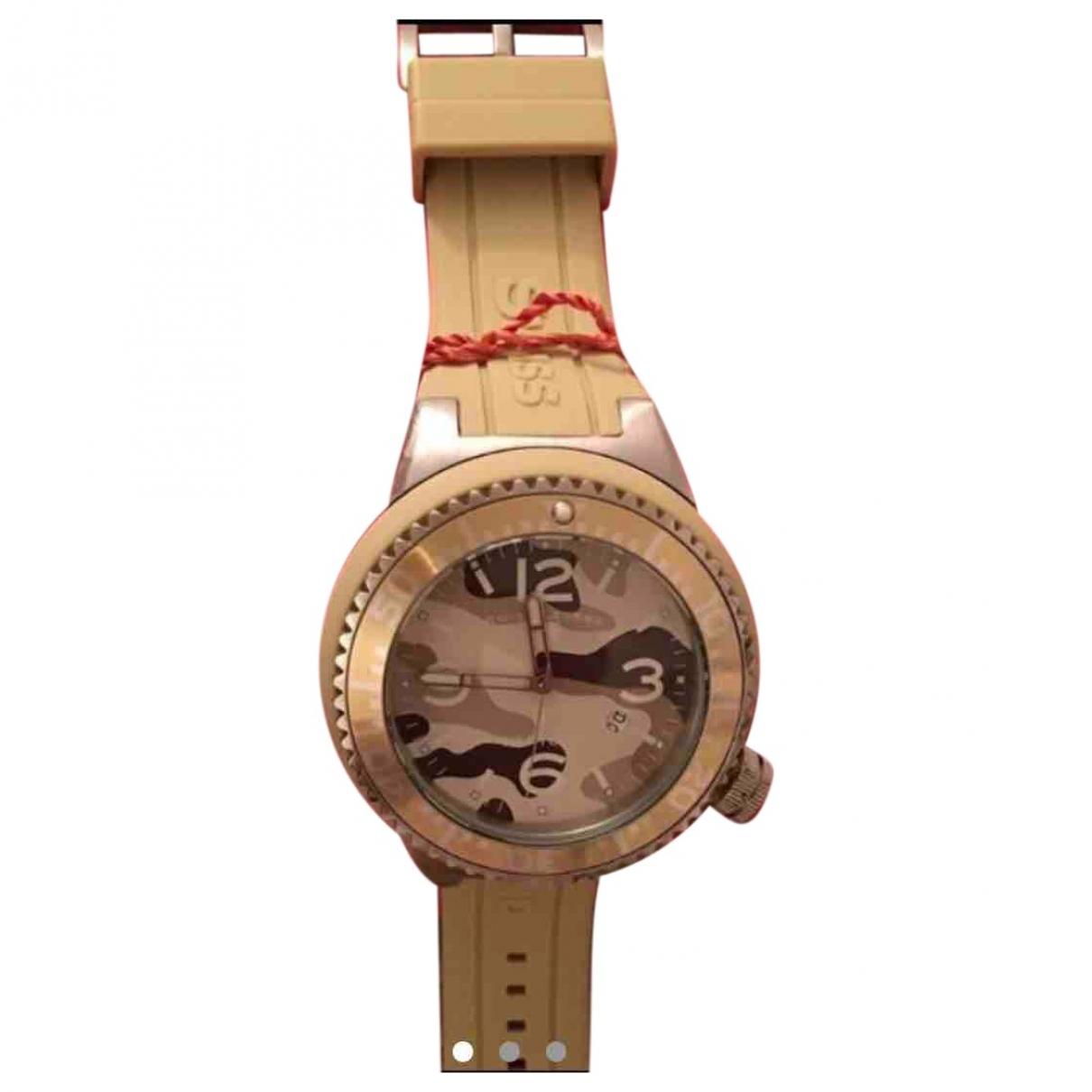 Swiss Legend \N Uhr in  Khaki Stahl