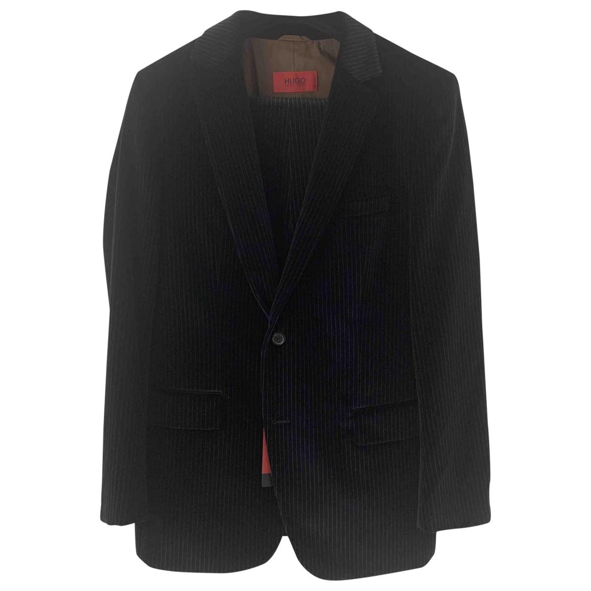 Hugo Boss \N Black Velvet Suits for Men 54 FR
